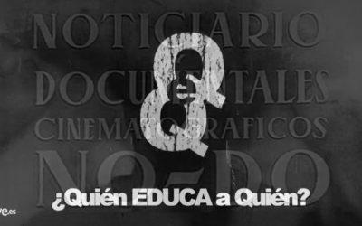 TVE1 es torna a disfressar de No-Do per a escopir catalanofòbia El programa 'Quién educa a quién' va normalitzar les falses acusacions de discriminació al castellà