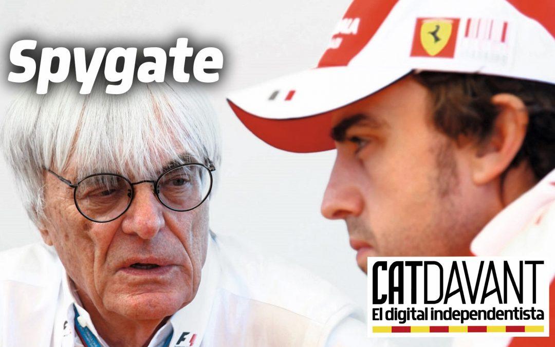 """Ecclestone confirma la implicació d'en Fernando Alonso al """"spygate"""" La biografia de l'expresident de la Fórmula 1 detalla que el pilot espanyol va provar de fer xantatge a en Ron Dennis al 2007"""