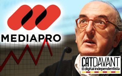 En Roures i Mediapro, vora de la fallida? L'Estat espanyol ha avalat un préstec milionari a l'empresa audiovisual, la qual va voler que TV3 comprés a preu inflat uns capítols del judici del procés