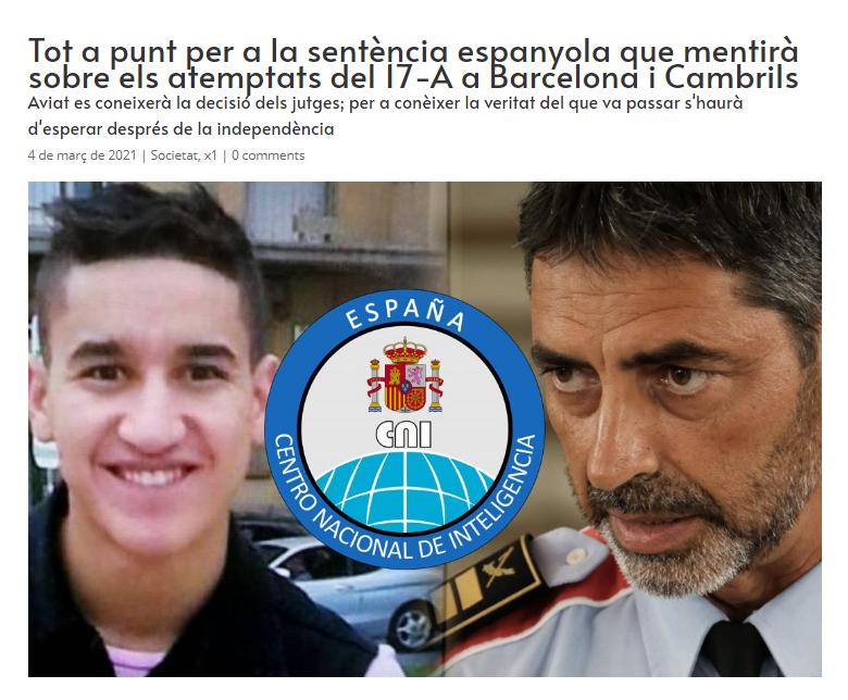 Tot a punt per a la sentència espanyola