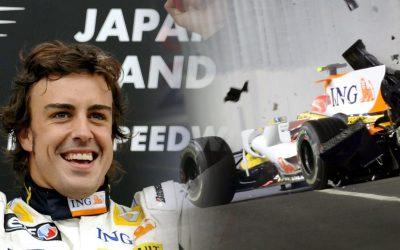 Crashgate, el punt més fosc de Fernando Alonso Com el pilot asturià va guanyar il·legítimament el gran premi de Singapur del 2008