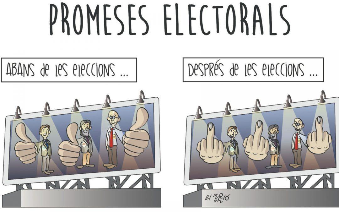 Promeses Electorals - Vinyeta - CatDavant