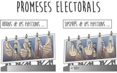 Promeses electorals La vinyeta de la setmana