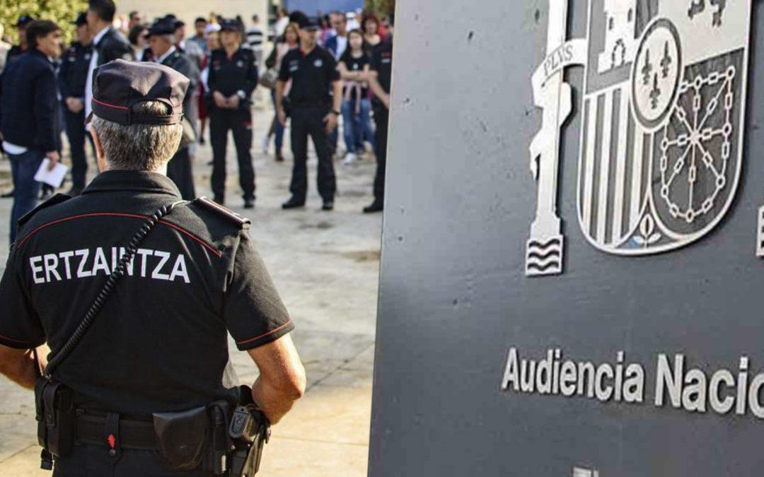 Ertzaintza-Audiencia Nacional