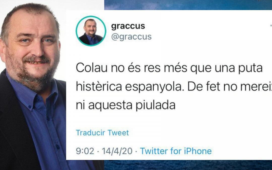 Josep Sort, president de Reagrupament, expulsat de les llistes de Junts per Catalunya Les piulades insultants contra Ada Colau havien obert una guerra a tres bandes entre Comuns, Junts i ERC