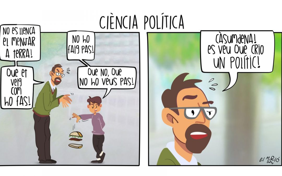 Vinyeta Ciència Política