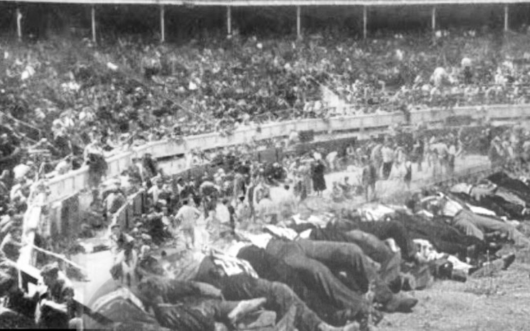 Un milió de presoners van passar pels 296 camps de concentració franquistes L'edició de butxaca del llibre del periodista Carlos Hernández se suma al de l'historiador Francisco Espinosa sobre la matança de Badajoz