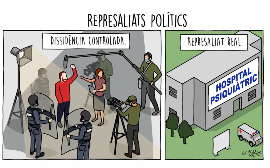 Represaliats polítics - Vinyeta