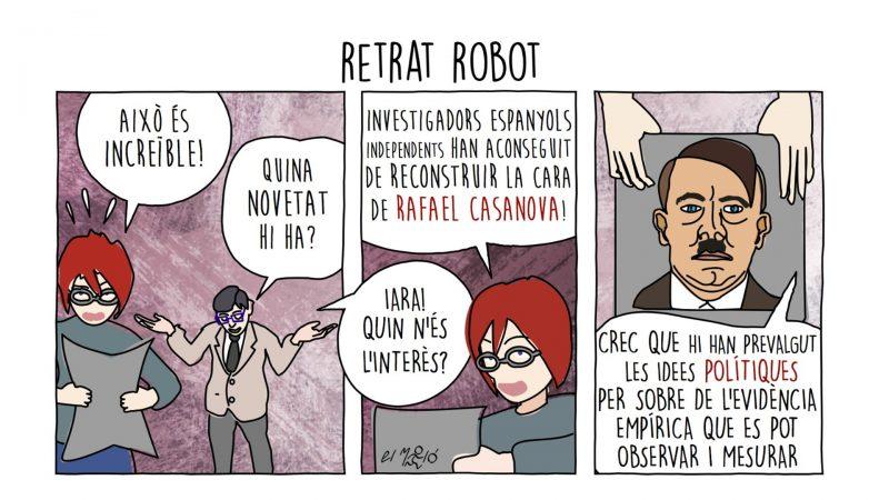Retrat Robot - Vinyeta