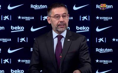 Bartomeu, detingut pel 'Barçagate' a sis dies de les eleccions Els Mossos també han escorcollat les oficines del club, en el context d'una xarxa d'espionatge