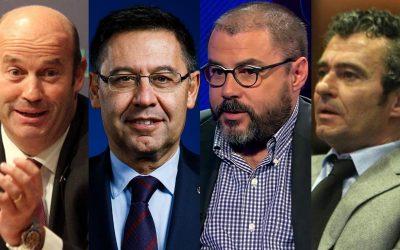 Bartomeu i tres ex-directius blaugranes podrien ésser expulsats com a socis La denúncia d'El Cor Blaugrana s'afegeix a la causa oberta del monitoratge a xarxes, la jutgessa de la qual demana 7.000 euros a la plataforma per a esdevenir-ne acusació popular