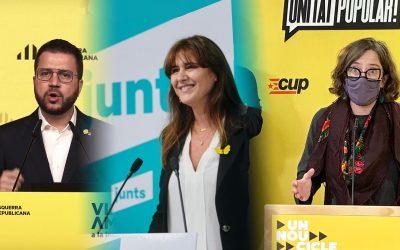 ERC-Junts-CUP