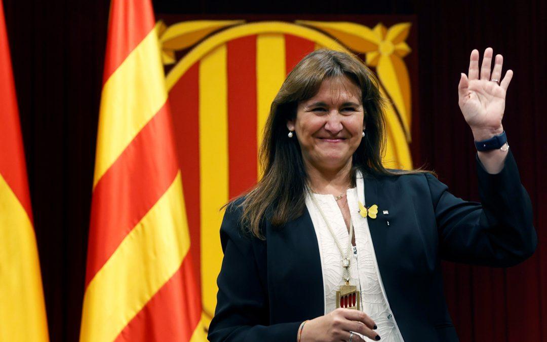 Laura Borras Presidenta Parlamanet Catalunya