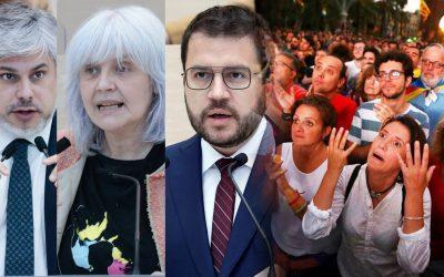74 diputats/ades d'ERC, Junts i CUP que diuen ser independentistes no van fer ahir la DUI Tampoc van ser capaços d'investir un president autonòmic i ho tornaran a provar dimarts