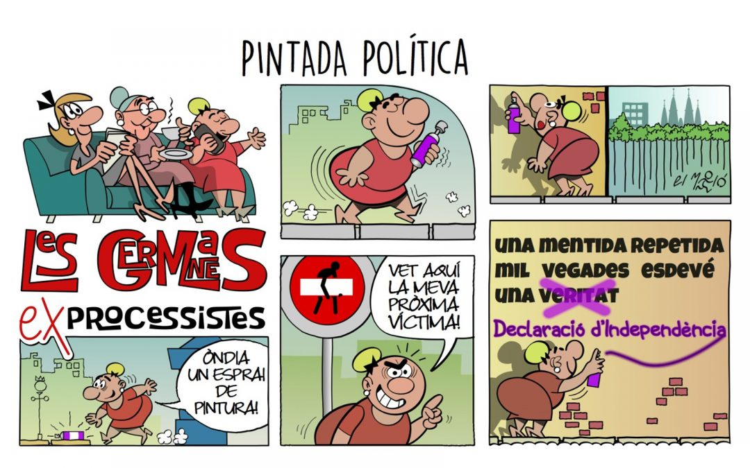 Pintada política La vinyeta de la setmana