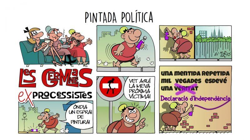 Pintada política - vinyeta
