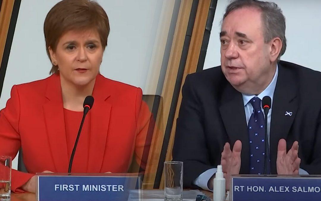 Creix la tensió a l'SNP escocès per l'afer Salmond Nicola Sturgeon va afrontar una sessió de vuit hores davant la comissió d'indagació del Parlament escocès