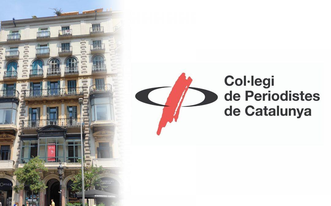 El Col·legi de Periodistes de Catalunya celebra 35 anys amb un homenatge als exdegans L'acte, que s'havia ajornat amb motiu de la pandèmia i les restriccions, es podrà seguir virtualment per YouTube