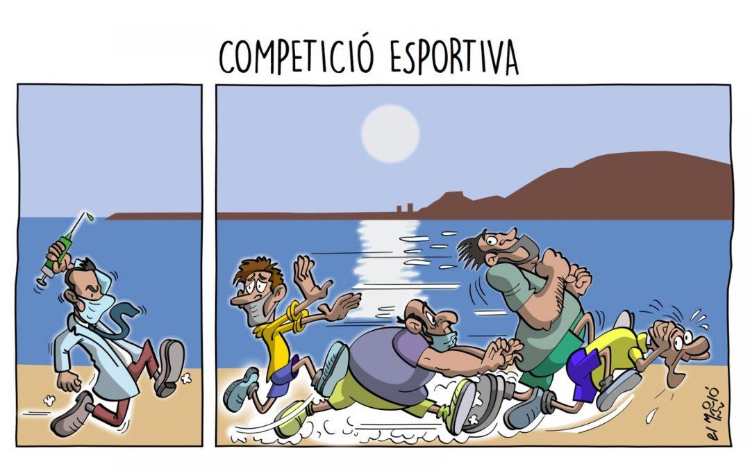 Competició Esportiva - Vinyeta