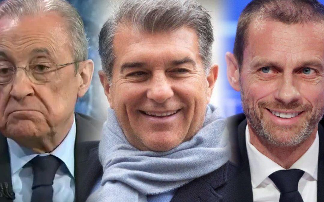 El fracàs de la Superlliga confirma la megalomania de Florentino Pérez La desbandada dels principals clubs europeus arruïna la nova competició; el Barça confia a l'assemblea de compromissaris la decisió de sortir-ne
