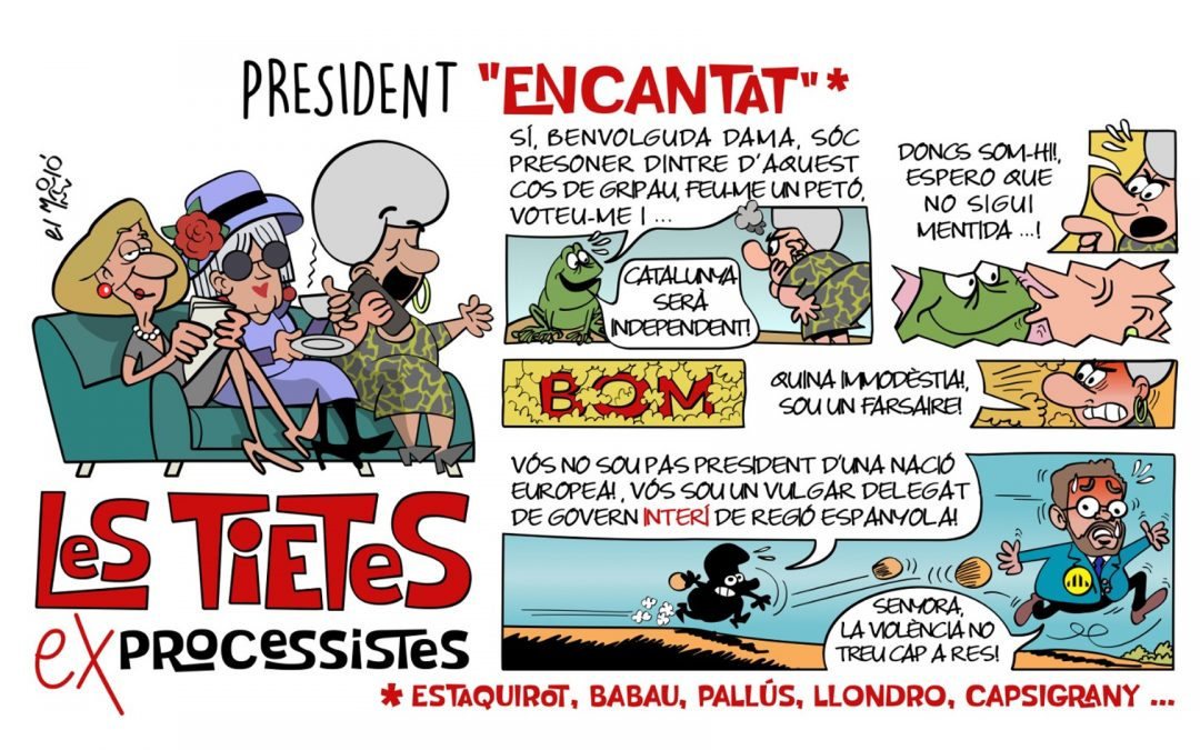 """President """"Encantat"""" La vinyeta de la setmana"""