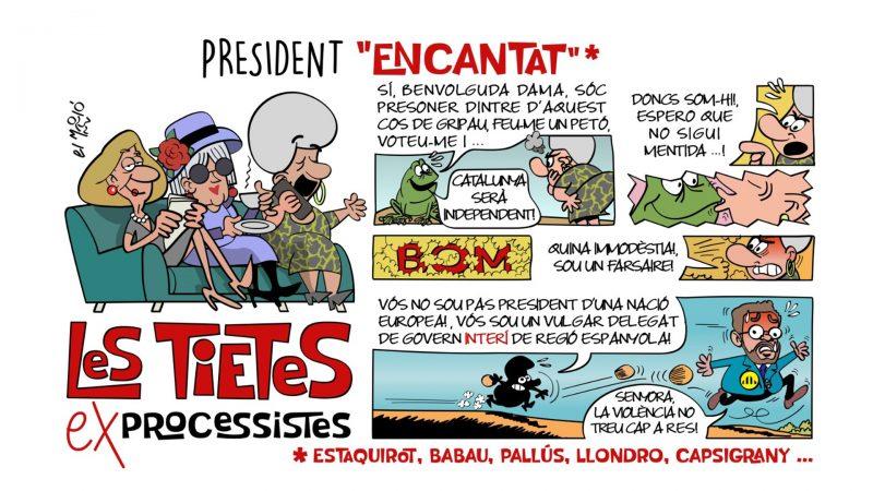 President Encantat - Vinyeta