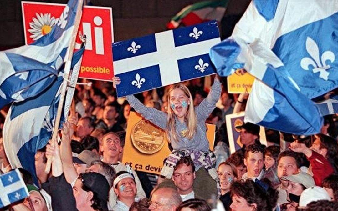 Quebec exemplifica com Catalunya no serà mai independent per referèndum Els dos referèndums perduts, al 1980 i 1995, i la Llei de Claredat fan utòpica la independència del Canadà malgrat decisions judicials recents al Quebec