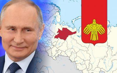 Regio del komi - Putin