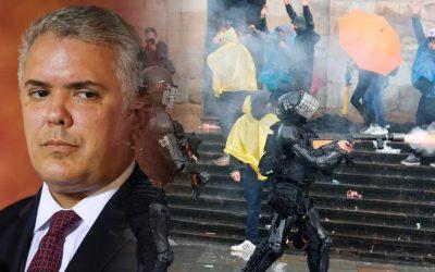 Iván Duque-Brutalitat policial Colombia