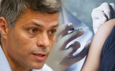 Leopoldo Lopez vacuna