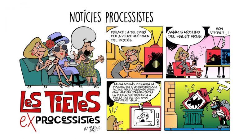 Noticies processistes Vinyeta