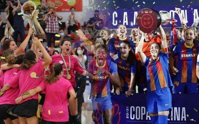 Gran cap de setmana de l'esport femení català El Generali HC Palau guanya al Voltregà la final europea d'hoquei patins i el Barça de futbol fa el triplet