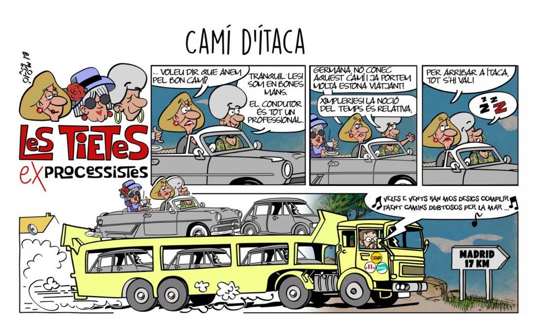 Camí d'Itaca - Vinyeta