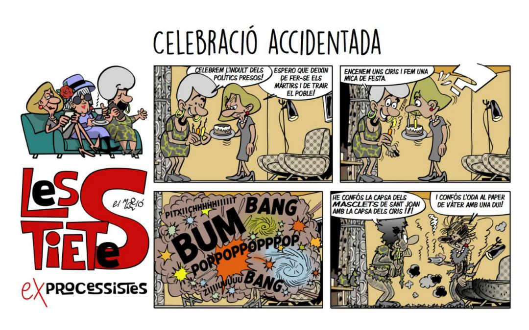 Celebració Accidentada Vinyeta
