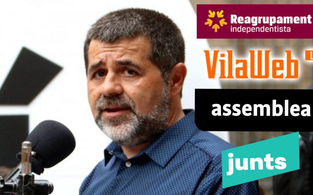 Jordi Sanchez-Reagrupament-Vilaweb-ANC-Junts