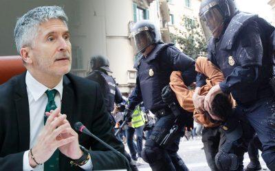 Ministre Marlaska - detencio policial