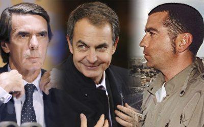 Aznar-Zapatero-José Couso