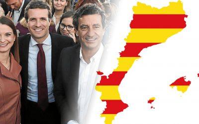 Casado mira de provocar quan menysté el terme Països Catalans i nega la unitat del català A les Illes diu que parlen mallorquí, menorquí, eivissenc i formenterenc, en castellà, això sí