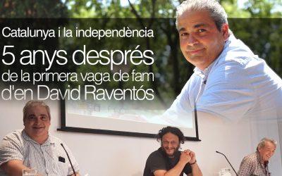 Conferència 5 anys després de la primera vaga de fam d'en David Raventos