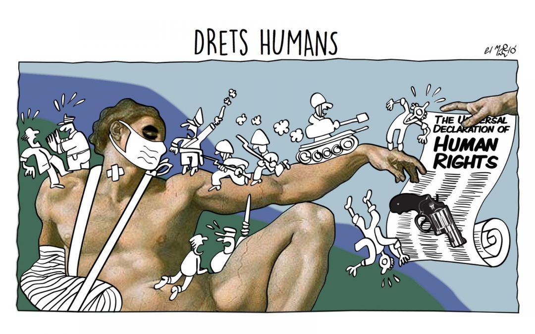 Drets humans - Vinyeta