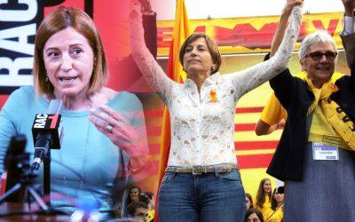 Carme Forcadell fa indignar molts independentistes quan denigra la unilateralitat Parla de donar dos anys de la negociació, de confiar en Podemos i de fer un referèndum