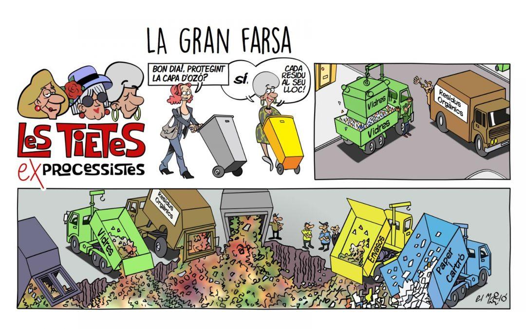 La gran farsa - Vinyeta