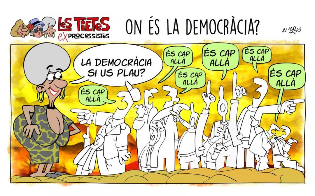 On és la democràcia? La vinyeta de la setmana