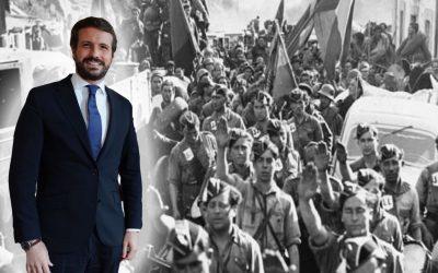 Pablo Casado relativitza la Guerra Civil i n'equipara els bàndols El regidor madrileny Borja Fanjul, familiar directe de colpistes, rebla el clau i assegura que no hi va haver guanyadors