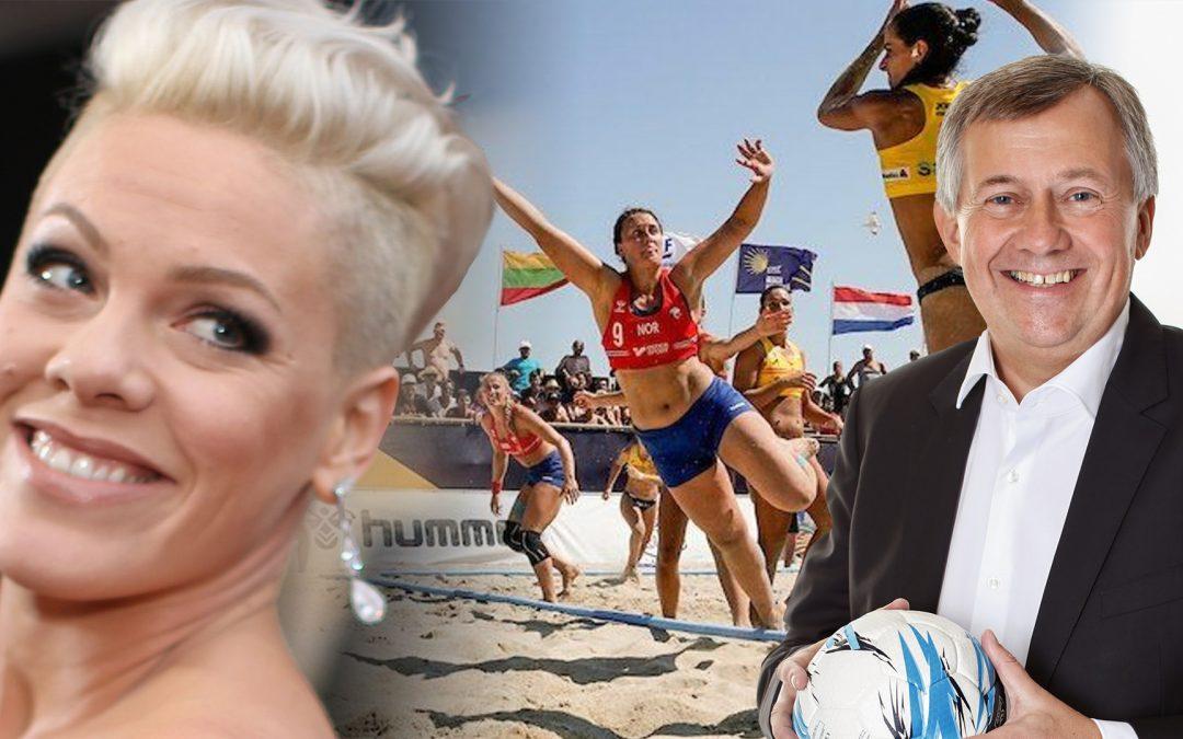 La polèmica pels uniformes de l'equip noruec d'handbol encara fa parlar i, probablement, portarà canvis La cantant nord-americana Pink proposa de pagar-los les sancions i el president de la Federació Europea diu que promouran el canvi de la normativa ofensiva a escala de la EHF