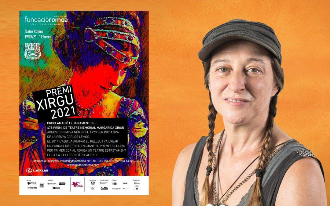 Roser Batalla s'emporta el Premi Margarida Xirgu L'actriu obté el guardó pel monòleg 'L'empaperat groc'