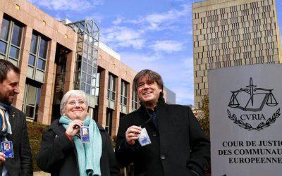 El Tribunal General de la Unió Europea retira la immunitat a Puigdemont, Ponsatí i Comín, com Catdavant va preveure La immunitat se'ls havia concedit amb molta cautela i els ha estat retirada després de les al·legacions del Parlament Europeu