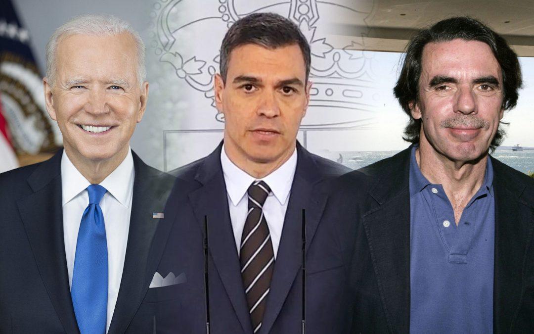 Biden-Pedro Sánchez-Aznar