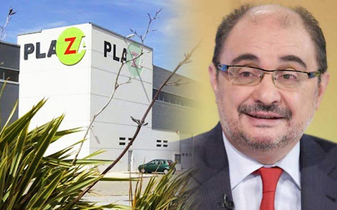 Javier Lambán-plataforma logística Plaza