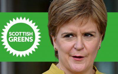 Scottish Greens-Nicola Sturgeon